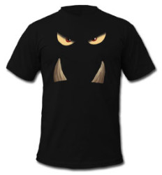 castle panic monster eyes t-shirt
