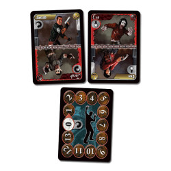 Character cards in Bloodsuckers card game