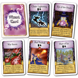Wizard Deck in The Wizard's Tower game