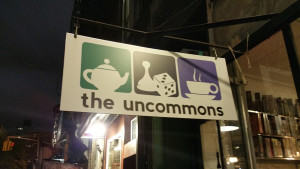 Tea, games and coffee? We must be in the right place!