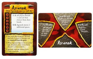 dark titan agranok level 6 promotional card