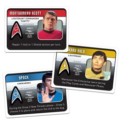 Star Trek Panic Character Cards