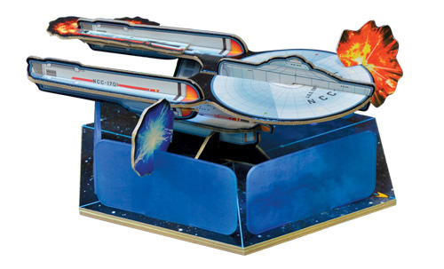 Star Trek Panic 3D Enterprise
