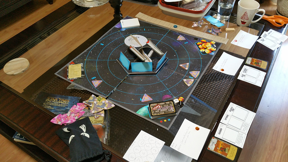 Star Trek Panic early prototype