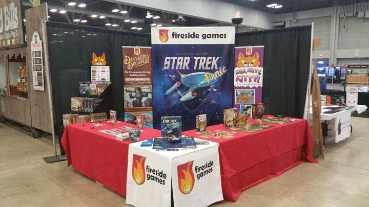 Wizard World Booth Ready