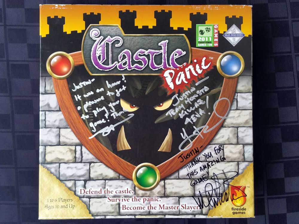 Wizard World Signed Castle Panic