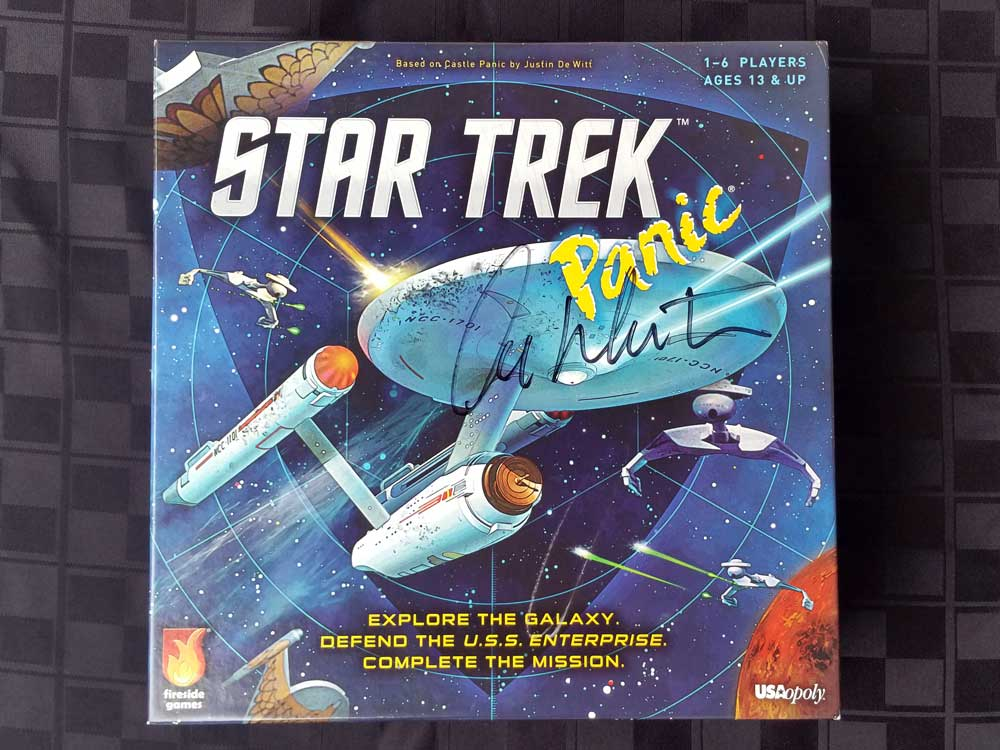 Signed Star Trek Panic