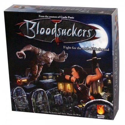 bloodsuckers card game box cover