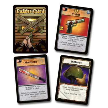 Cabin cards in Dead Panic