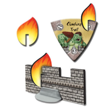 Flame tokens in The Wizard's Tower