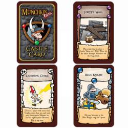 Munchkin Panic Castle cards