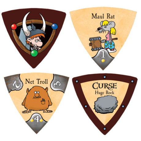 Monster tokens in Munchkin Panic