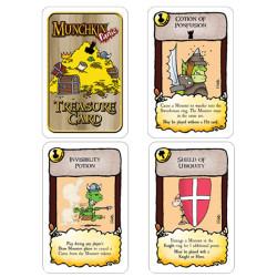 Munchkin Panic Treasure cards