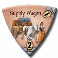 Supply Wagon token from The Dark Titan