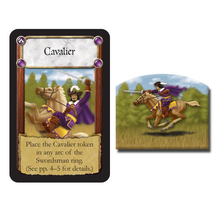 Cavalier token in The Dark Titan