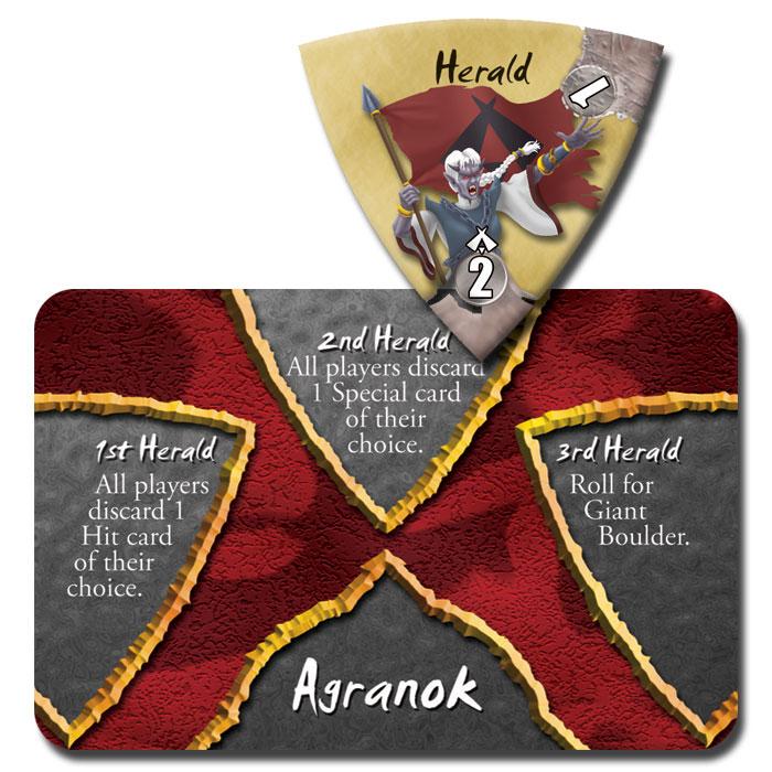 Herald tokens in Dark Titan