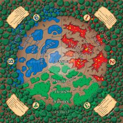 Munchkin Panic game board