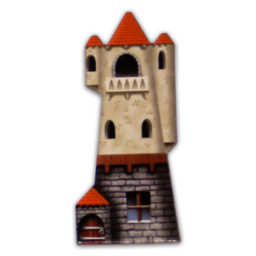 The Wizard Tower game piece