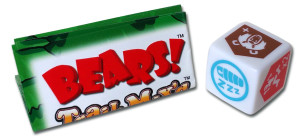 bears trail mix'd expansion contains a rule sheet and a die