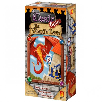 The Wizard's Tower 3d box cover