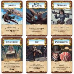 Dastardly Dirigibles steampunk airship card game cards