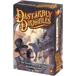Dastardly Dirigibles steampunk airship card game
