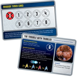 Star Trek Panic Mission Cards