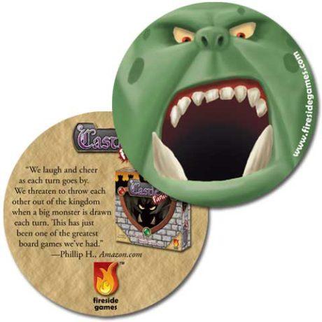 Castle Panic Troll Coaster