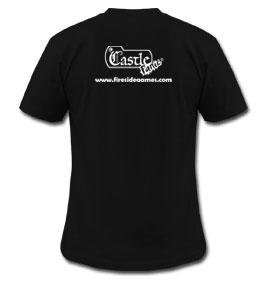Castle Panic Monster Eyes T-Shirt Back