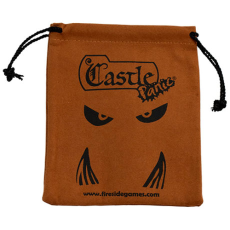 Castle Panic Suede Bag
