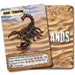 Remnants Giant Scorpion promo card