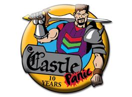 Castle Panic 10 Year pin