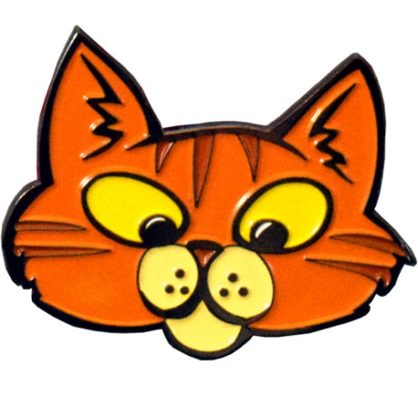 Here, Kitty, Kitty Pin