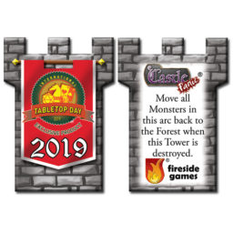 2019 International TableTop Day promo tower