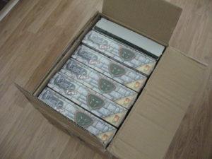1st Box of Castle Panic sample games