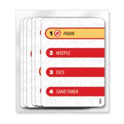 Stringamajig promo cards in a zip-lock bag