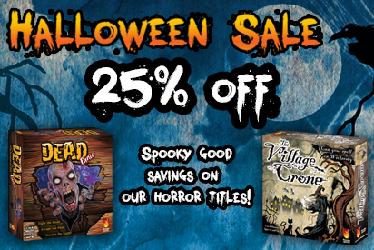 Halloween Sale 25% off