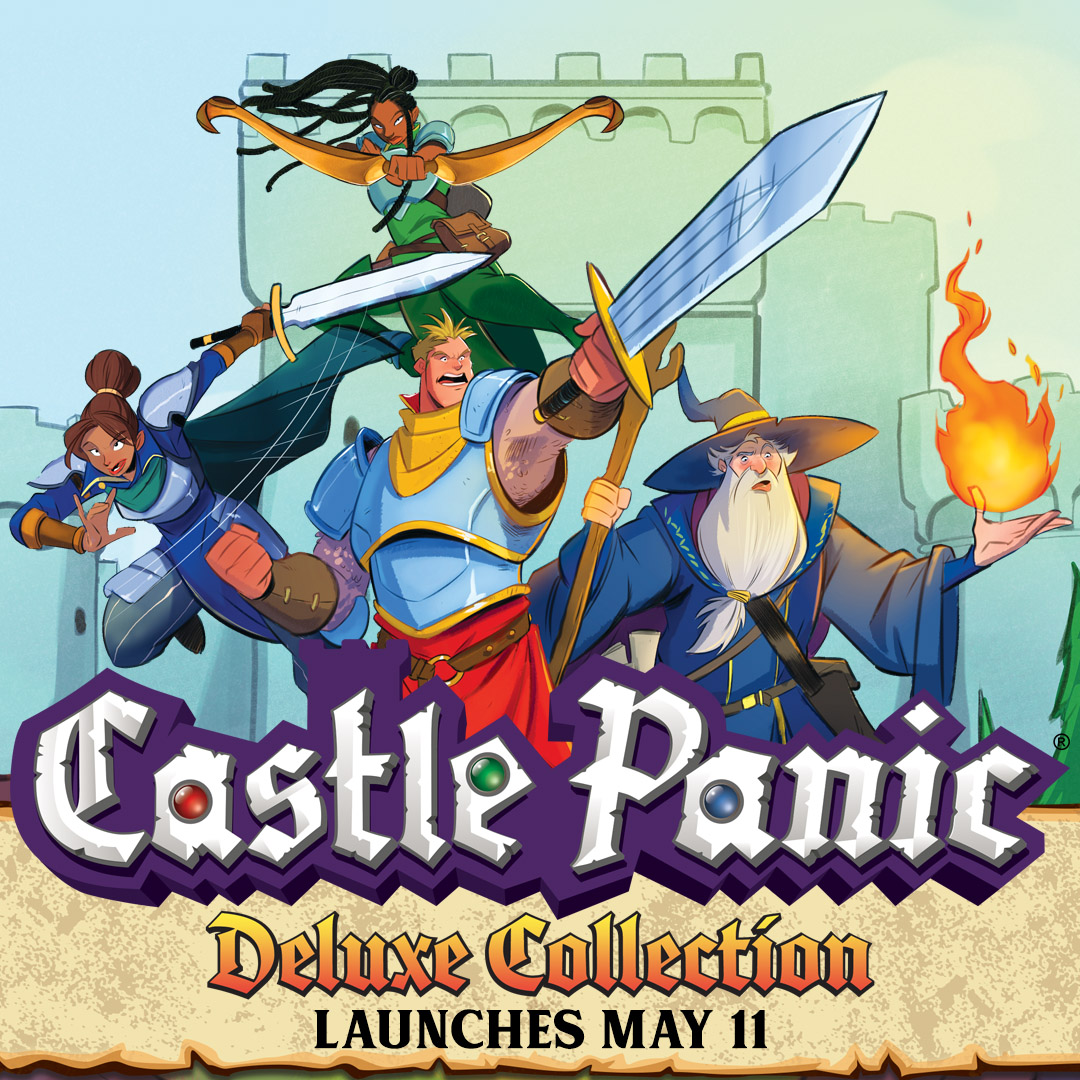 Castle Panic Deluxe Collection Launches May 11