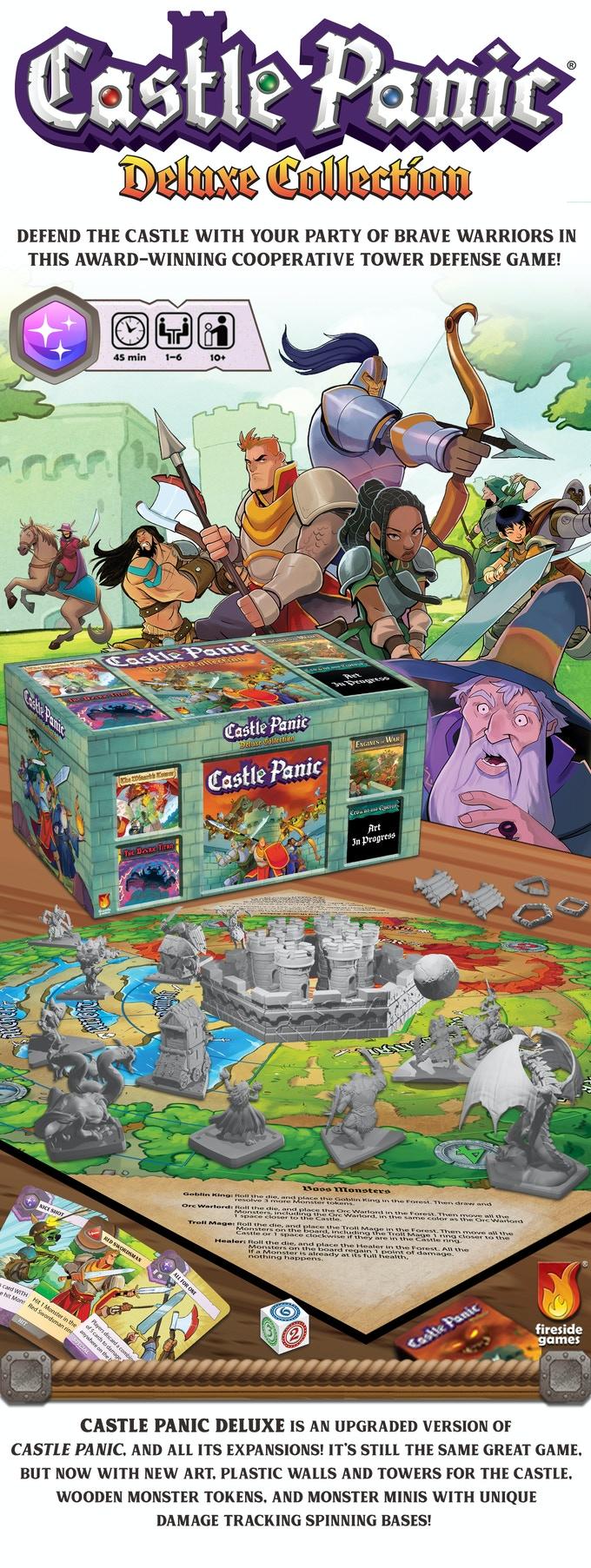 Castle Panic Deluxe Collection Splash image