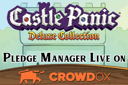 Castle Panic Deluxe Collection Pledge Manager Live on Crowd Ox